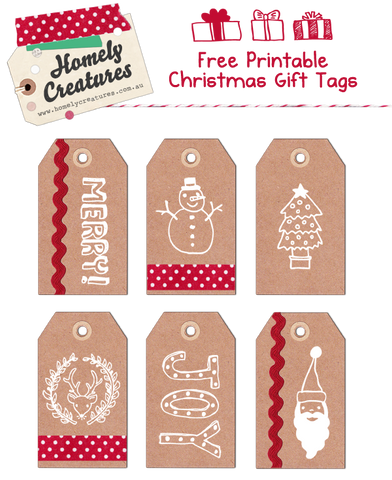 free printable christmas gift tags homely creatures