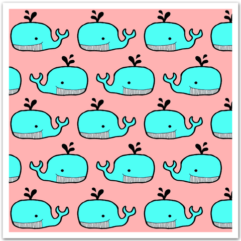 Whale Pattern By Homely Creatures New Whale Pattern