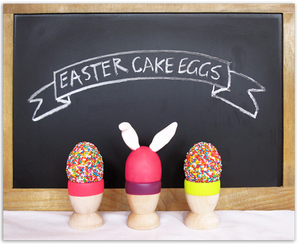 Easter cakes baked in egg shells - recipe!