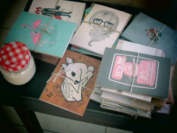 Homely Creatures Greeting Cards Ahoy!