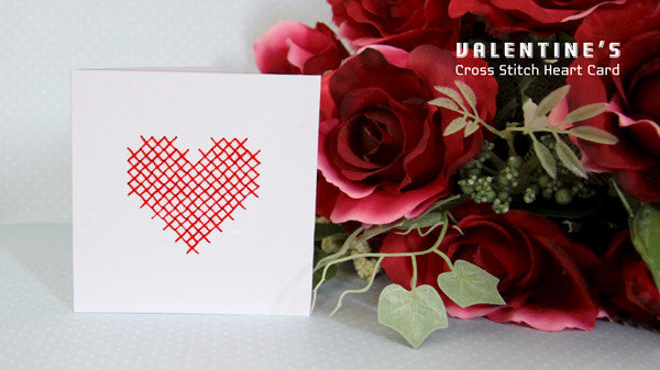 free valentine's day card tutorial