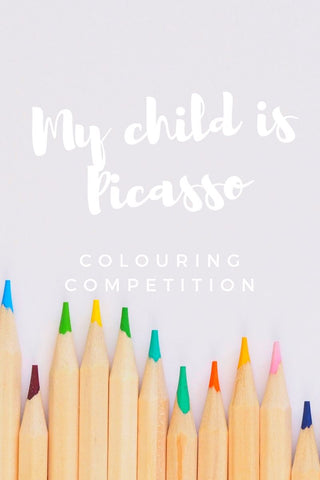 Picasso | Colouring Competition | Homely Creatures