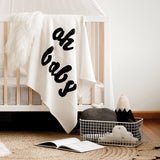 Cream Modern Knitted Baby Blanket | Buy Knitted Baby Blanket