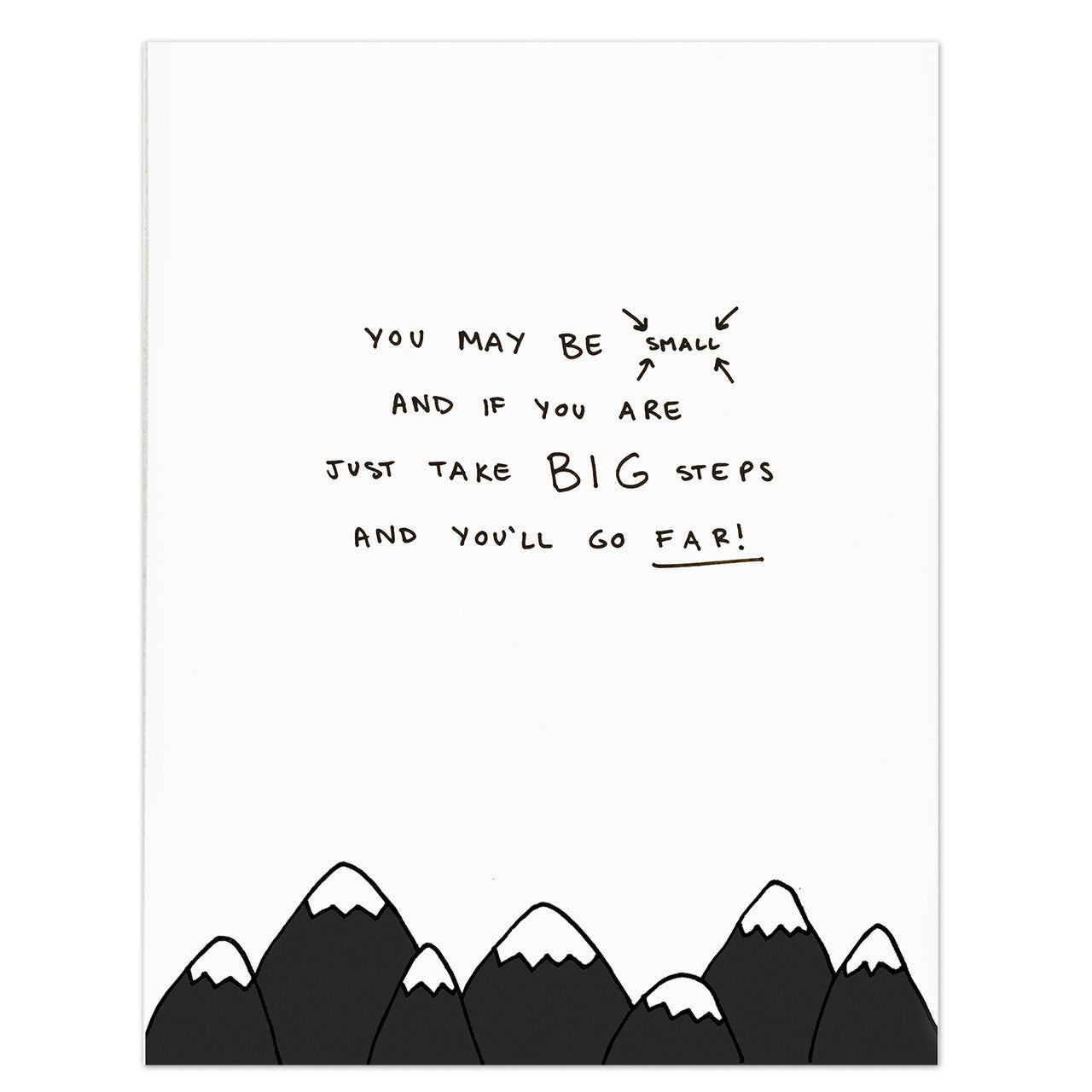 Mountains Poem Print | Nursery Wall Quotes