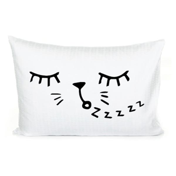 Cat Pillowcase | Modern Kids Bedding