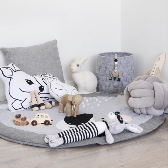 Deer Cushion | Gender Neutral Woodland Nursery