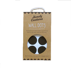 Black Dot Wall Decals | Kids Bedroom Wall Decals