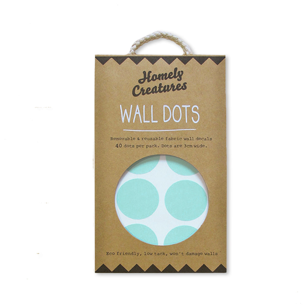 Mint Dot Wall Decals | Kids Bedroom Wall Decals