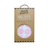 Pink Dot Wall Decals | Kids Bedroom Wall Decals