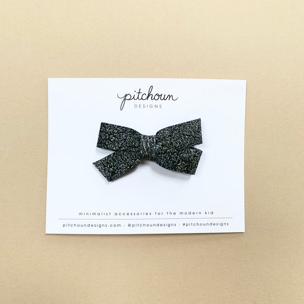 Colette bow - Stone