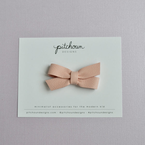 Colette bow - (Cherry Blossom)