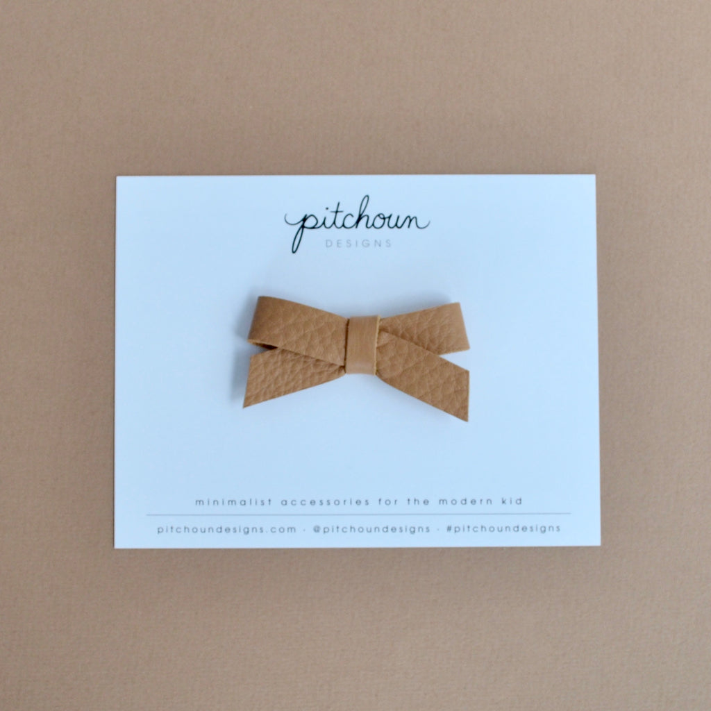 Paulette Bow - (Toffee)