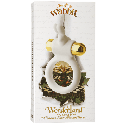 Wonderland The White Wabbit Cock Ring Package