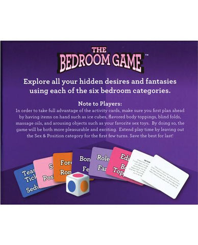 The Bedroom Game - Instructions