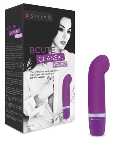 BCute Curve Massager - Purple Box