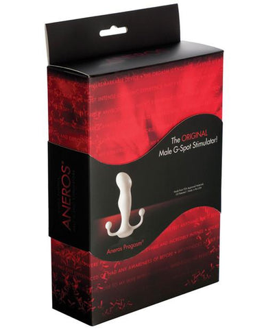 Aneros Progasm Male Prostate Stimulator - White Box