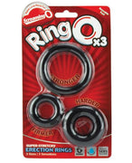 Screaming O RingO 3 Pack of Silicone Cock Rings