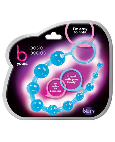 Blush Basic Anal Beads