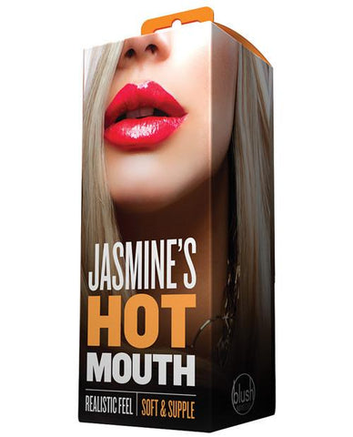 Blush Jasmines Hot Mouth Stroker - Box