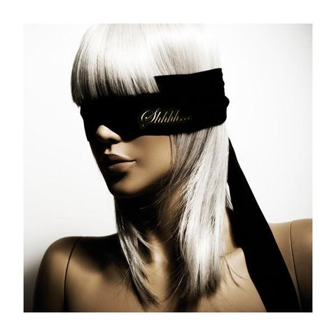 Bijoux Indiscrets Shhh Blindfold - Face