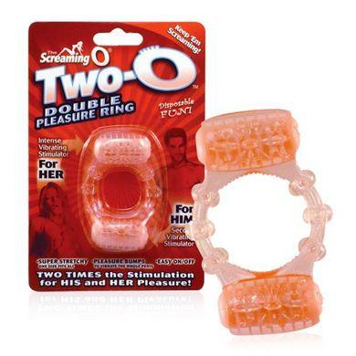 Screaming O Two-O Double Pleasure Ring - Package