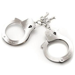 Fifty Shades of Grey You Are Mine Metal Handcuffs Front