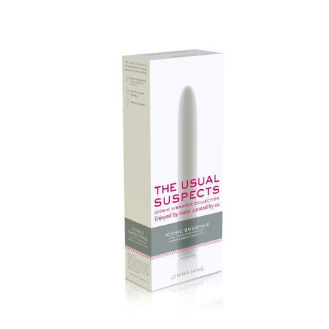 Jimmyjane The Usual Suspects Iconic Smoothie Vibrator Package