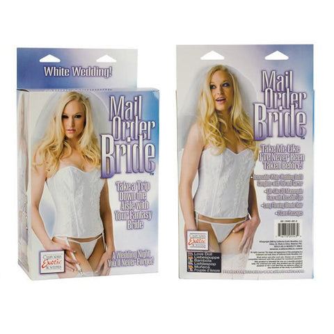 Mail Order Bride 3D Sex Doll - Package