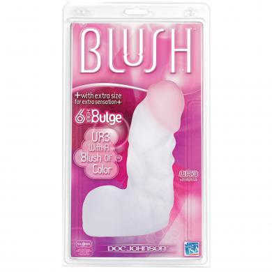 Blush UR3 6 Inch Bulge Dildo Box