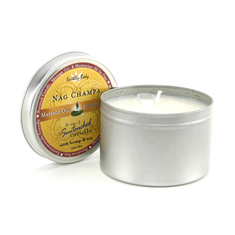 Nag Champa Suntouched Massage Oil Candle