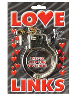 Gold Love Link Plastic Cuffs