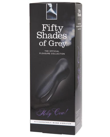 Fifty Shades of Grey Holy Cow! USB Rechargeable Wand Vibrator