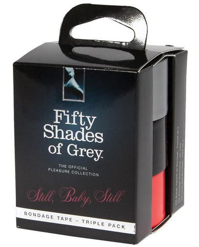 Fifty Shades of Grey Still Baby Still Bondage Tape Triple Pack - Box