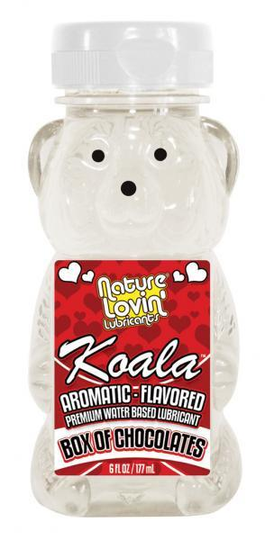Koala Flavored Lube 6Oz/177Ml Chocolates