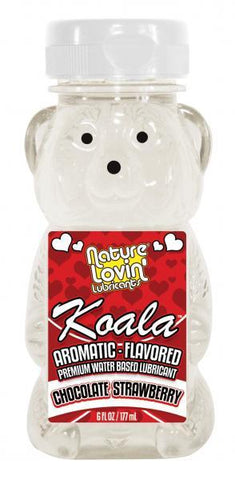 Koala Flavored Lube 6Oz/177Ml Strawberry