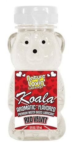 Koala Flavored Lube 6Oz/177Ml Red Velvet