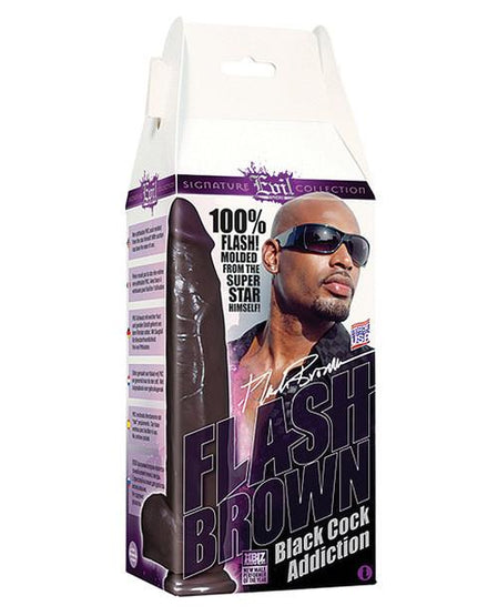Flash Brown Black Cock Addiction Box