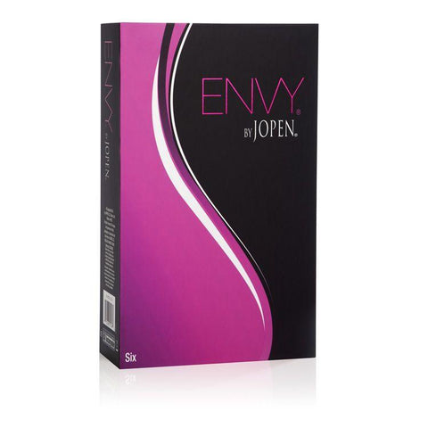 Jopen Envy Six Luxury Dual Action Silicone Vibrator Box - Front