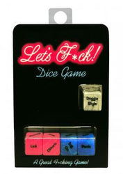 Let's F*ck! Dice Game Package