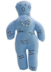 New Husband Voodoo Doll Front