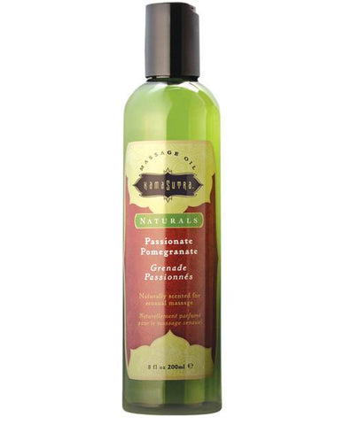 Kama Sutra Natural Massage Oil - Pomegrante
