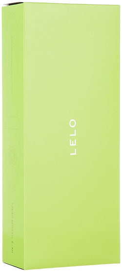 LELO Liv 2 Luxury Rechargeable G-Spot and Clitoral Vibrator Lime Green box