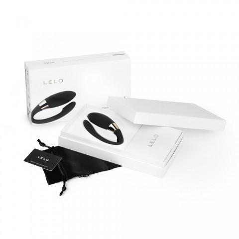 LELO Noa Luxury Couples Massager - Black Box Opened
