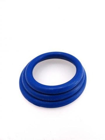 M2M Safe Skin Nitrile Cock Ring (Pack of 3)