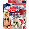 "American Whopper 6.5"" Dong & Harness Box"