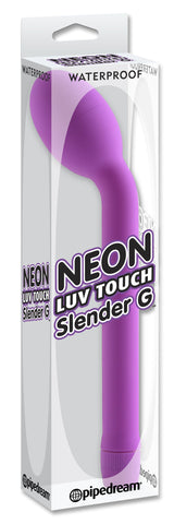 Neon Luv Touch Slender G-Spot Vibrator Purple Package