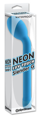 Neon Luv Touch Slender G-Spot Vibrator Blue Package