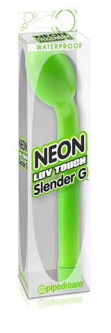Neon Luv Touch Slender G-Spot Vibrator Green Package