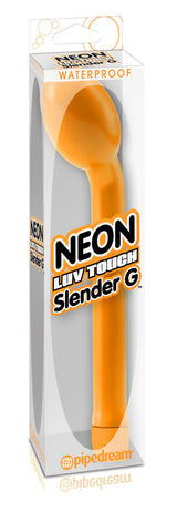 Neon Luv Touch Slender G-Spot Vibrator Orange Package