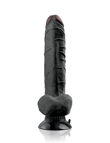 Real Feel Deluxe No. 7 Realistic Vibrating 10.5 Inch Suction Dildo